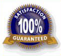 Picture of A 100% Satisfaction Gaurantee Label